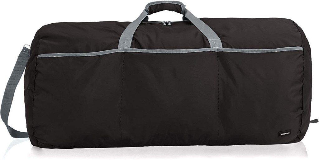 Black duffel bag amazon basics