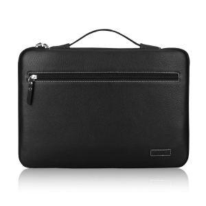 Black Laptop Sleeve Leather