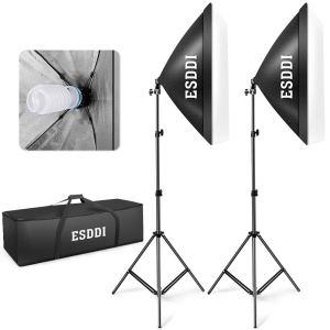 Softbox Lighting Kit Esddi