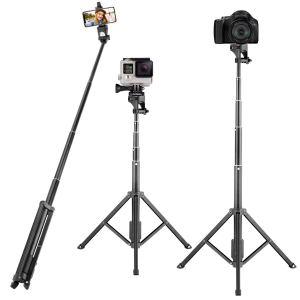 Eocean 54 Inch Extendable Selfie Stick Stand Camera Tripod