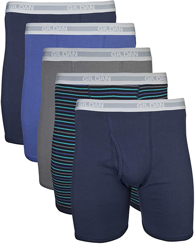 best men's underwear - multi-pack boxer briefs Gildan