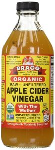 Apple Cider Vinegar Bottle Braggs