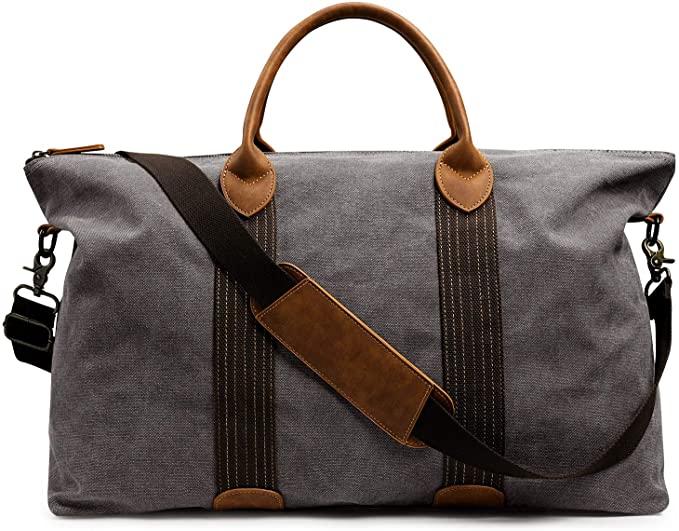 Canvas Weekender travel bag