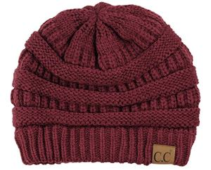 Cable Knit Beanie C.C