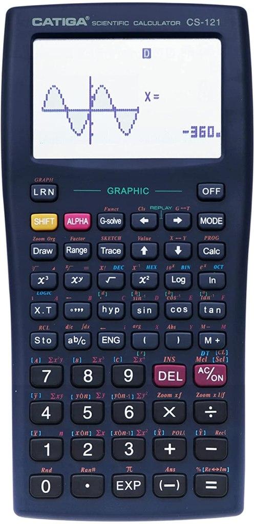 CATIGA CS121 Scientific Graphic Calculator