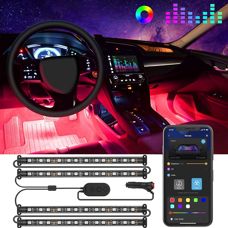 Govee Interior LED Car Lights; best car accessories