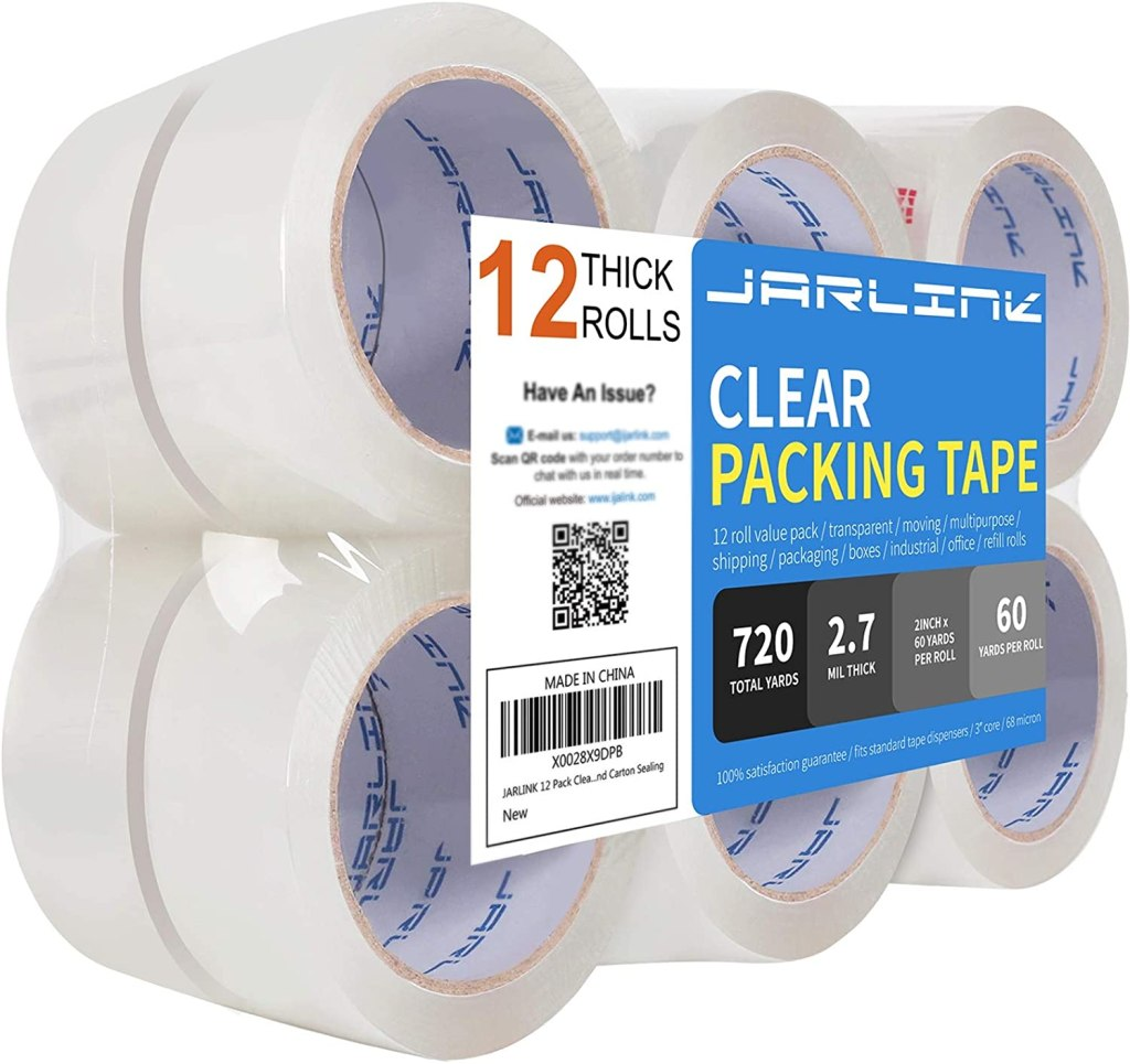 JARLINK Clear Packing Tape