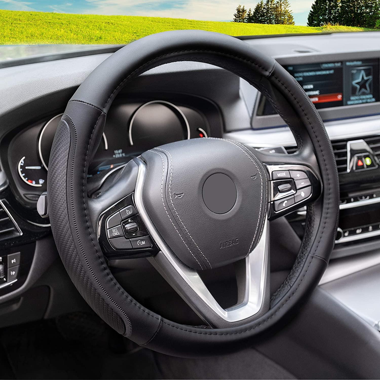 Magnelex Microfiber Leather Steering Wheel Cover