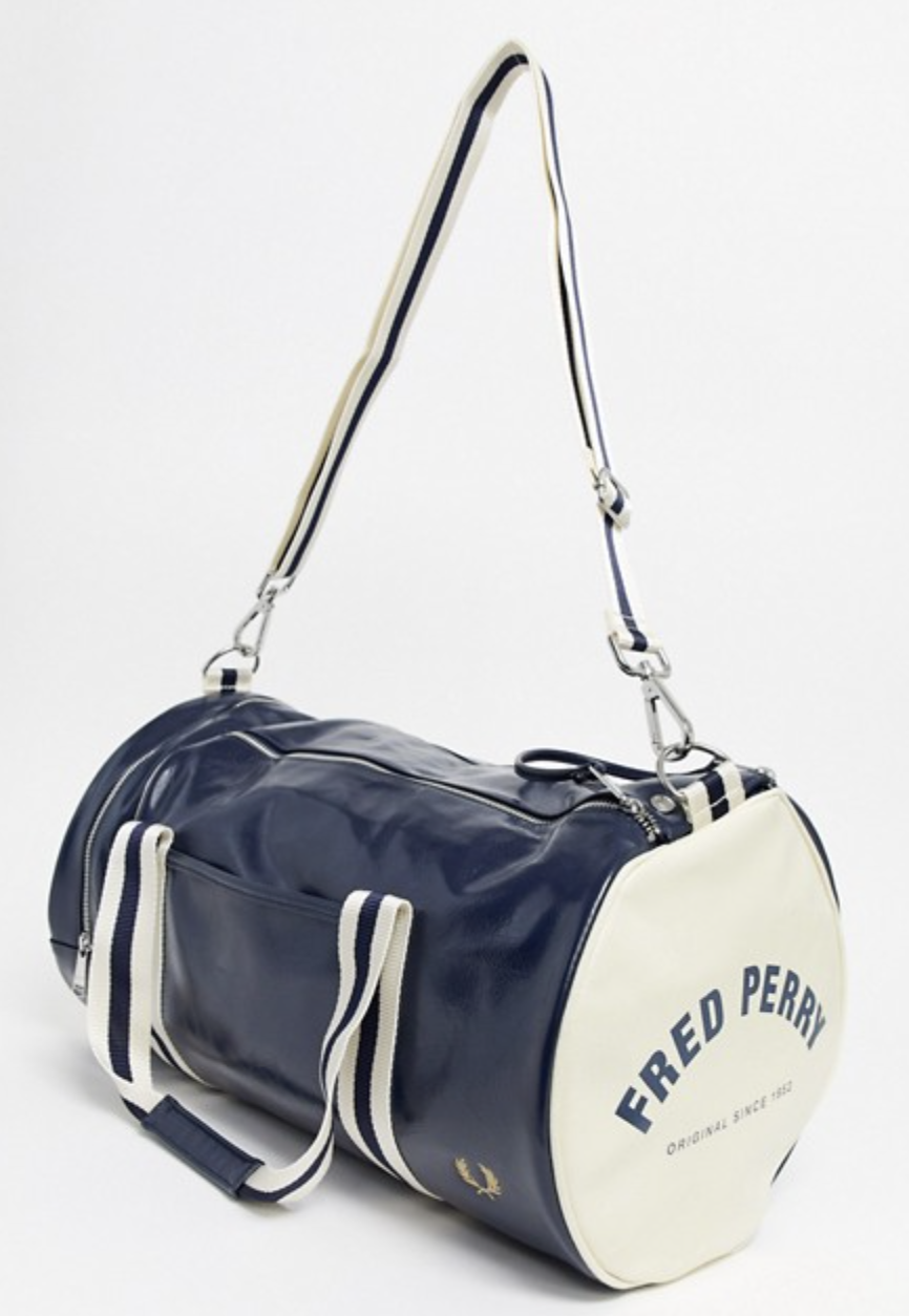 best weekender bag Fred Perry