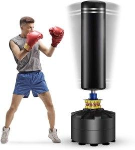 twomaples freestanding punching bag