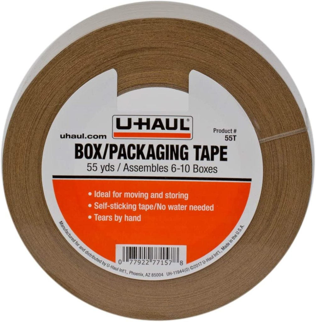 U-Haul Moving Box Paper Tape