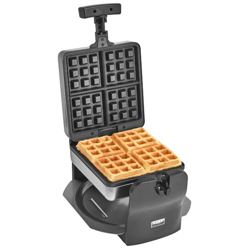 Bella - Pro Series 4-Slice Rotating Waffle Maker