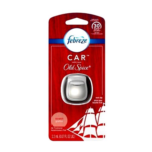 Febreze Car Old Spice Air Freshener Vent Clip