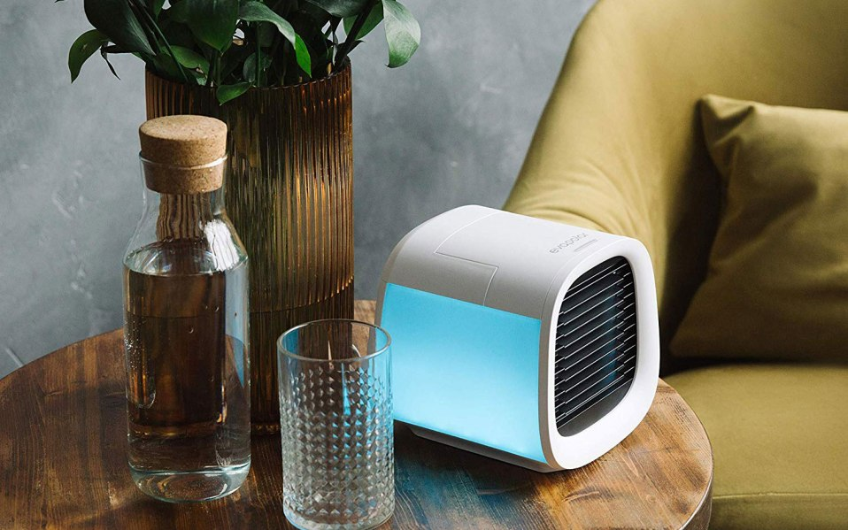 a personal standing air conditioner with