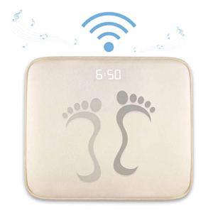 rug pressure alarm clock on a white background