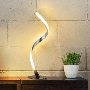 albrillo spiral design lamp, best bedside lamp
