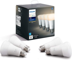 best alexa devices Philips Hue White LED Smart Bulbs