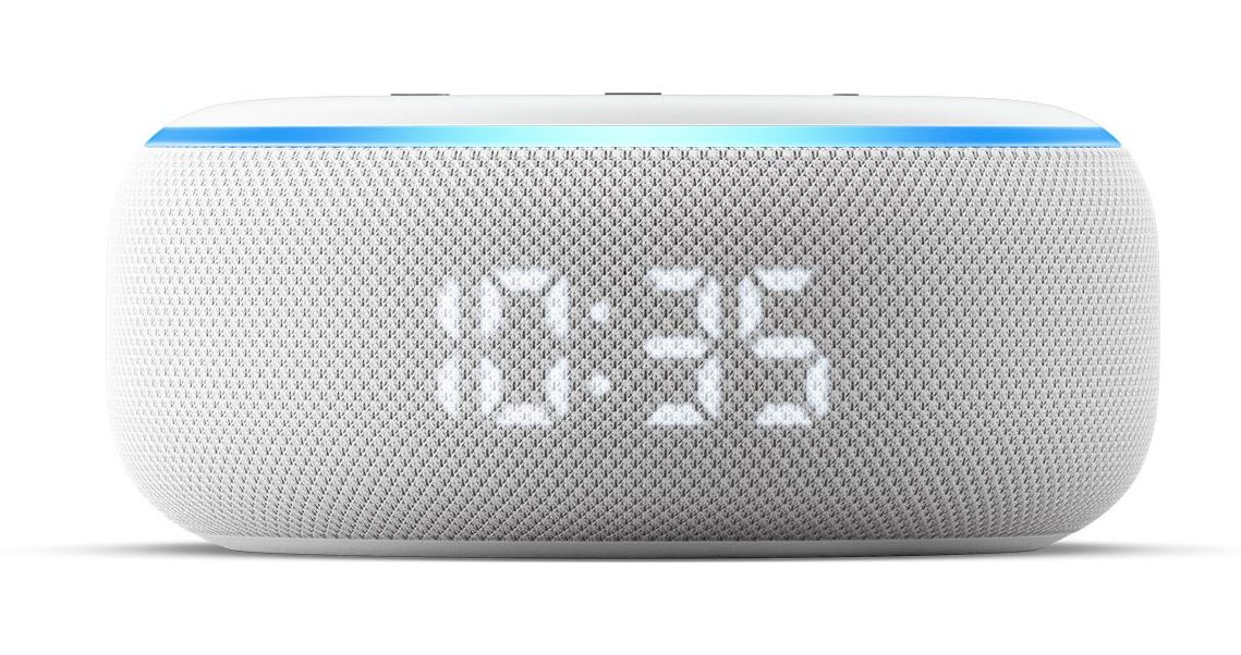 Amazon Echo Dot with Clock - Best Gadgets of 2020