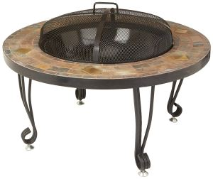 AmazonBasics Stone Fire Pit, best fire pit overall