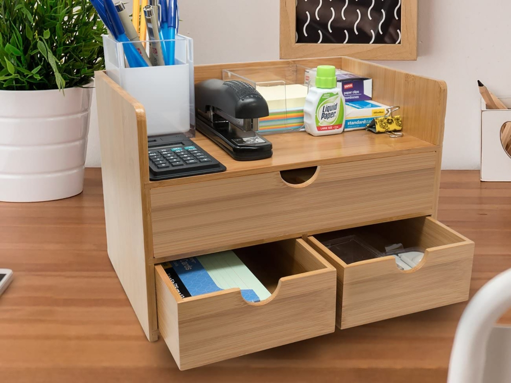 Get Your Life In Order Once and For All With These Desk Organizers