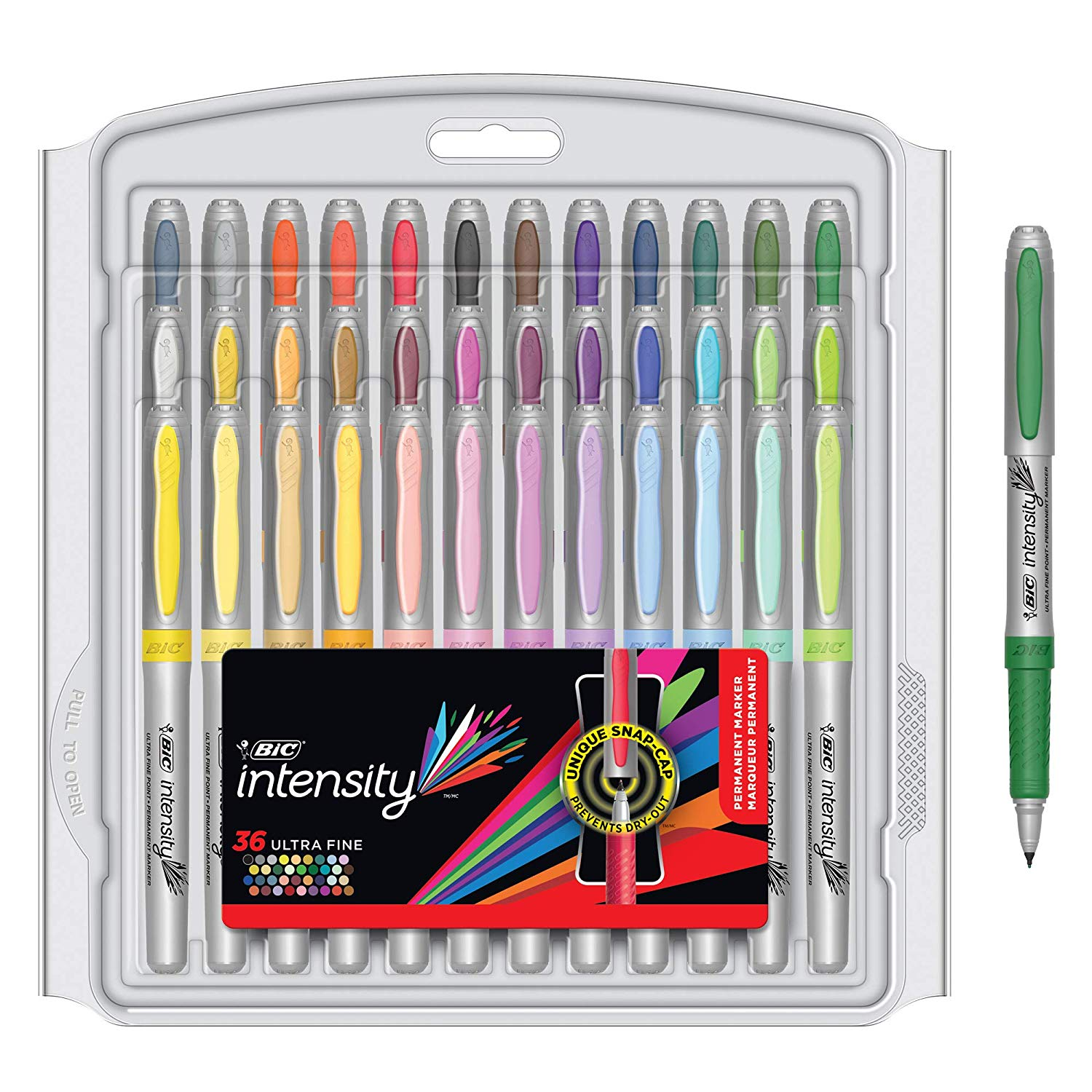 BIC Intensity Fashion Permanent Markers