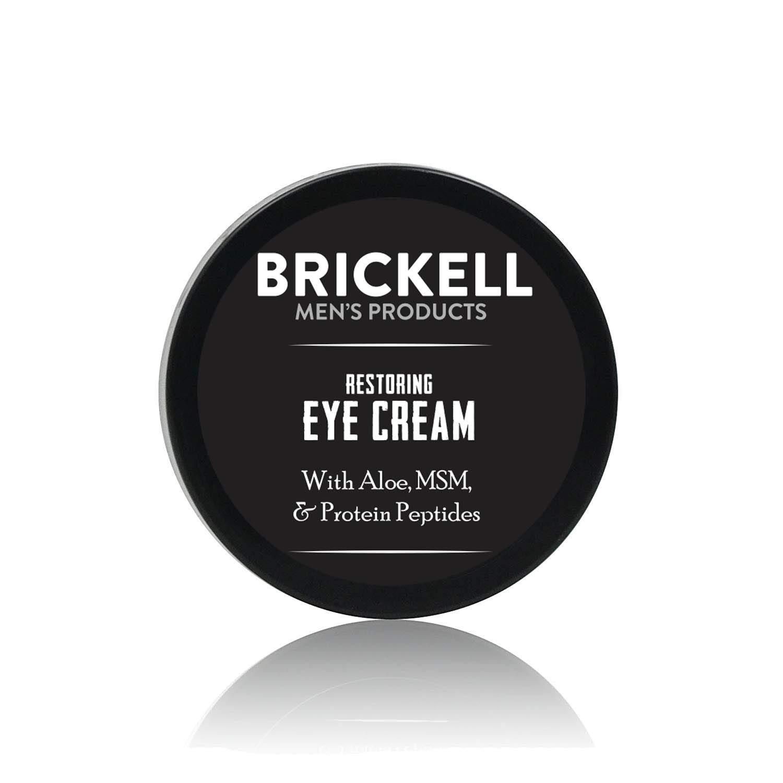 Brickell men's restoring eye cream for men, best skin care products for men