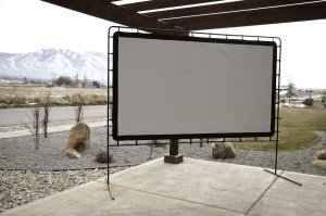 Camp chef projection screen