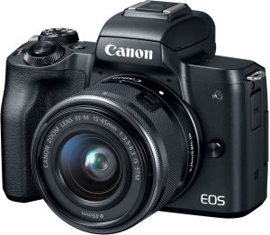 best gifts for dads to be canon eos m50 mirrorless camera