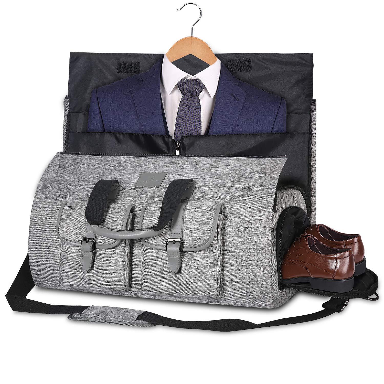 UniqueBella Carry-On Large Garment Duffel Bag; best weekender bags