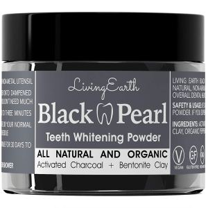 charcoal toothpaste black pearl