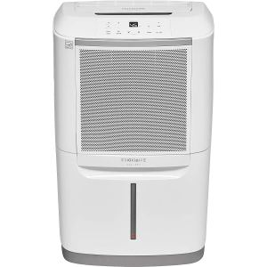 frigidaire dehumidifier on a white background