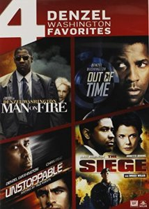 Denzel Washington action dvd