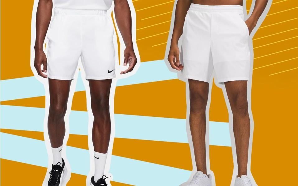 mens tennis shorts