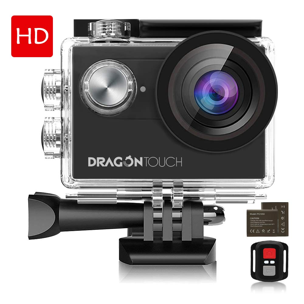 Dragon Touch 4K Vision 4 EIS Action Camera