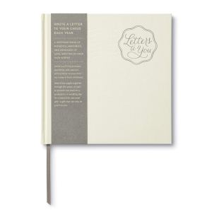 letters to you is a journal for fathers who want to write letters to their children. The book is shown on a white background.