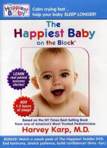 the happiest baby on the block dvd showing a happy baby on the cover