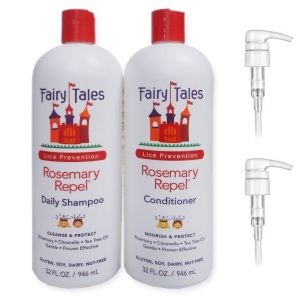 Fairy Tales Rosemary Repel Lice Prevention Shampoo & Conditioner ComboFairy Tales Rosemary Repel Lice Prevention Shampoo & Conditioner Combo