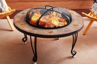 Fire Pits Let You Stay Warm and Cozy Outdoors, Without Fear of Burning Down the Place