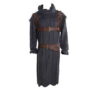 a blue and brown hodor costume