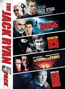 Jack Ryan Action dvd