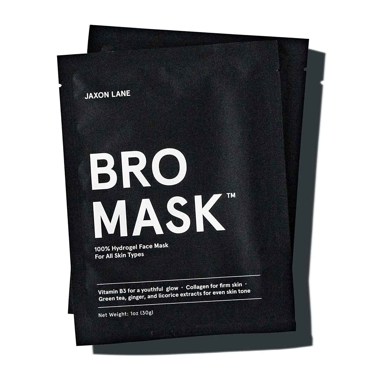 jaxon lane bro mask, best skin care products for men