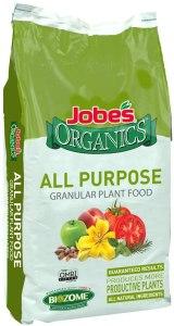 best fertilizer jobes organics
