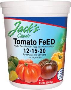 best fertilizer jr peters jacks tomato