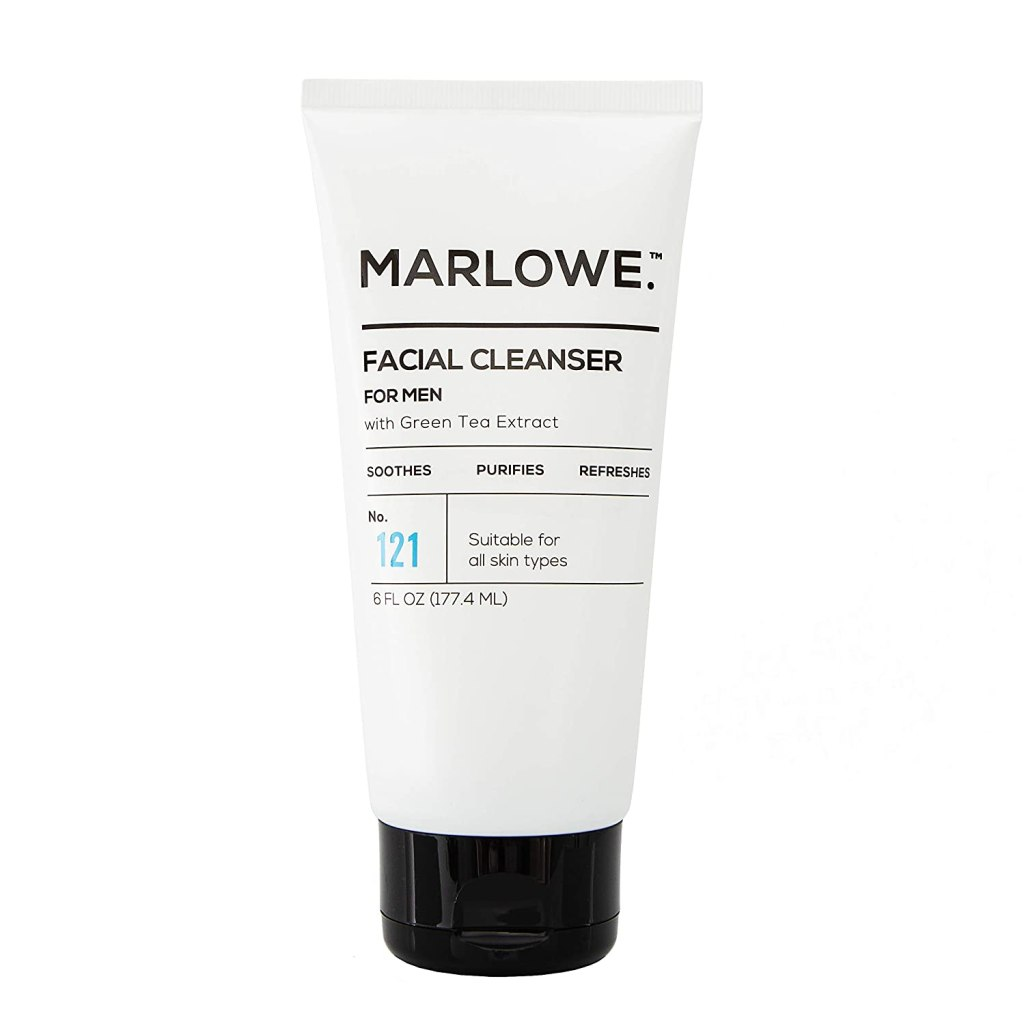 Marlowe no. 121 facial cleanser for men, best skin care products for men