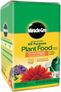best fertilizer miracle gro water soluble
