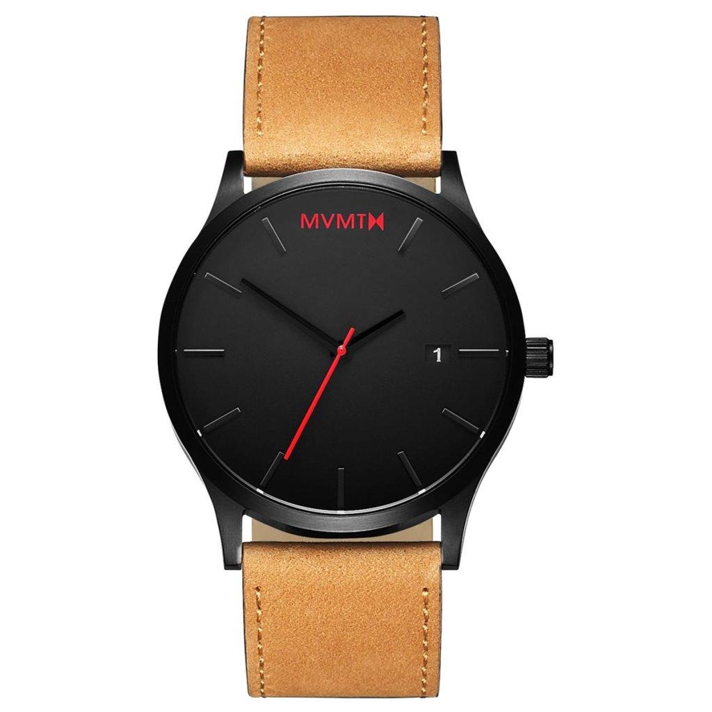 MVMT Black Tan Classic Watch - Best dress watches for men