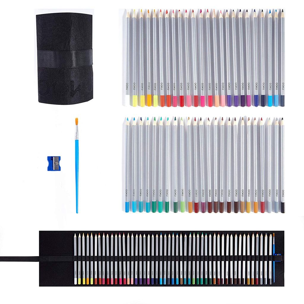 OOKU Watercolor Pencils Arist Set