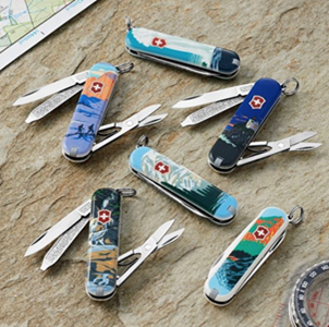 swiss army knives national parks
