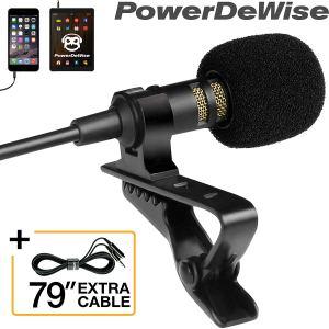 Powerdewise video microphone