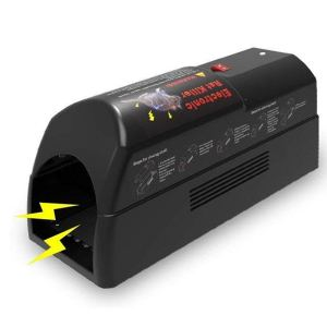 an electric aspectek rate trap on a white background